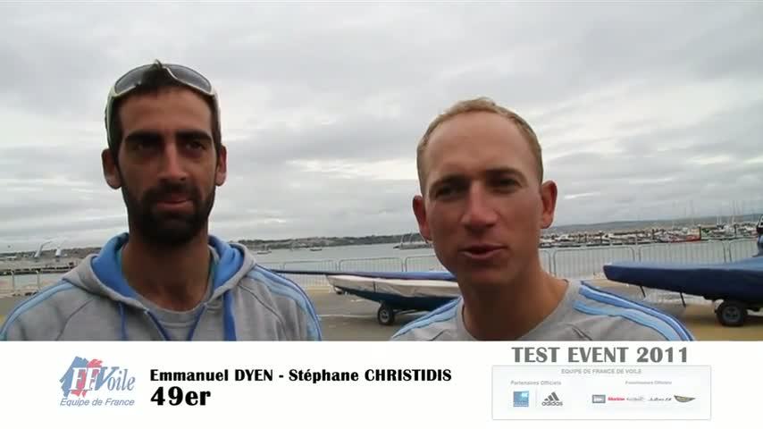 test event 2011 itv 49er