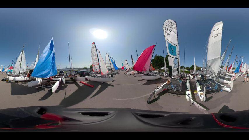 Un petit tour au cœur du Village du Championnat de France Espoirs Glisse à Brest
